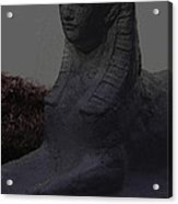Sphinx Statue Three Quarter Profile Moonlight Usa Acrylic Print