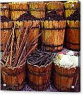 Spices In The Egyptian Market Acrylic Print