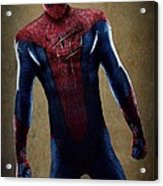 Spider-man 2.1 Acrylic Print by Movie Poster Prints