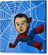 Spider-man Alan Acrylic Print