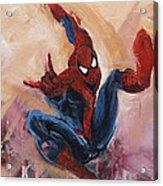 Spider-man Acrylic Print