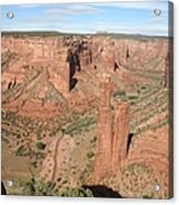 Spider Rock  Canyon De Chelly Acrylic Print