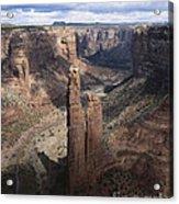 Spider Rock, Canyon De Chelly Acrylic Print