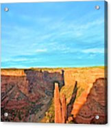 Spider Rock In Canyon De Chelly Acrylic Print