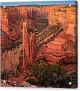 Spider Rock Sunset Acrylic Print