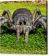 Spider Sculpture Acrylic Print