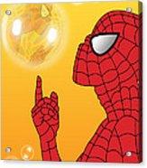 Spiderman 3 Acrylic Print