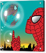Spiderman 4 Acrylic Print