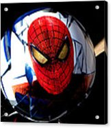 Spiderman Acrylic Print