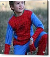 Well Done Spiderman Acrylic Print