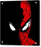 Spidey In The Shadows Acrylic Print