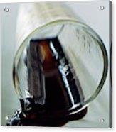 Spilled Balsamic Vinegar Acrylic Print