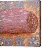 Spilt Vase Acrylic Print