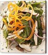 Spinach Salad Acrylic Print
