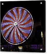 Spinning Ferris Wheel Acrylic Print
