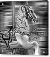 Spinning Horses Acrylic Print