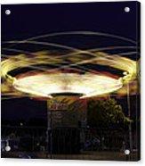 Spinning Orbiter Fair Ride Acrylic Print
