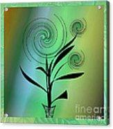 Spinning Plant Acrylic Print