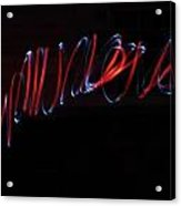 Spinning Spool Of Light Acrylic Print