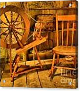 Spinning Wheel Acrylic Print
