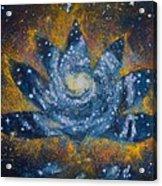 Spiral Bloom Acrylic Print