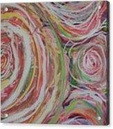 Spiral Bouquet Acrylic Print