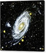 Spiral Galaxy Acrylic Print