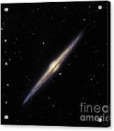 Spiral Galaxy Ngc 4565, Optical Image Acrylic Print