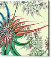 Spiral Garden Acrylic Print