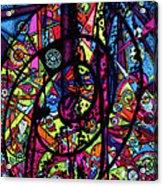 Spiral Night Acrylic Print