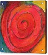 Spiral Of Life Acrylic Print