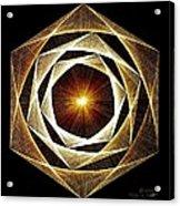 Spiral Scalar Acrylic Print