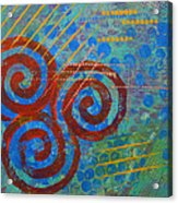 Spiral Series - Stance Acrylic Print