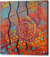 Spiral Series - Timber Acrylic Print