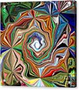 Spiral Splendor Acrylic Print