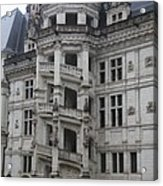 Spiral Staircase Chateau Blois  Acrylic Print
