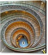 Spiral Staircase Vatican Acrylic Print