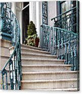Spiral Stairs Acrylic Print