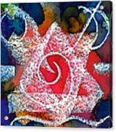 Spiral Star Acrylic Print