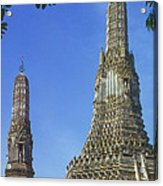 Spires Of The Temple Of Dawn Acrylic Print
