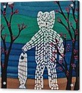 Spirit Bear Bella Coola Acrylic Print