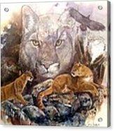 Spirit Cat Acrylic Print