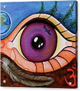 Spirit Eye Acrylic Print