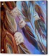 Spirit Feathers Acrylic Print