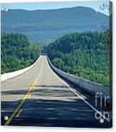 Spirit Lake Memorial Journey Acrylic Print