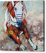 Spirit Of A War Pony  Acrylic Print