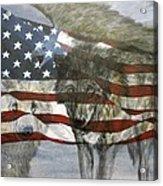 Spirit Of America Acrylic Print