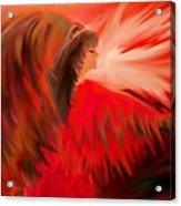 Spirit Of An Indian Princess Acrylic Print