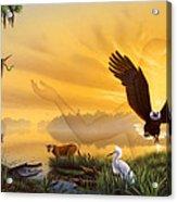 Spirit Of The Everglades Acrylic Print