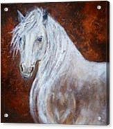 Spirit Of The Heart Acrylic Print by The Art With A Heart By Charlotte Phillips